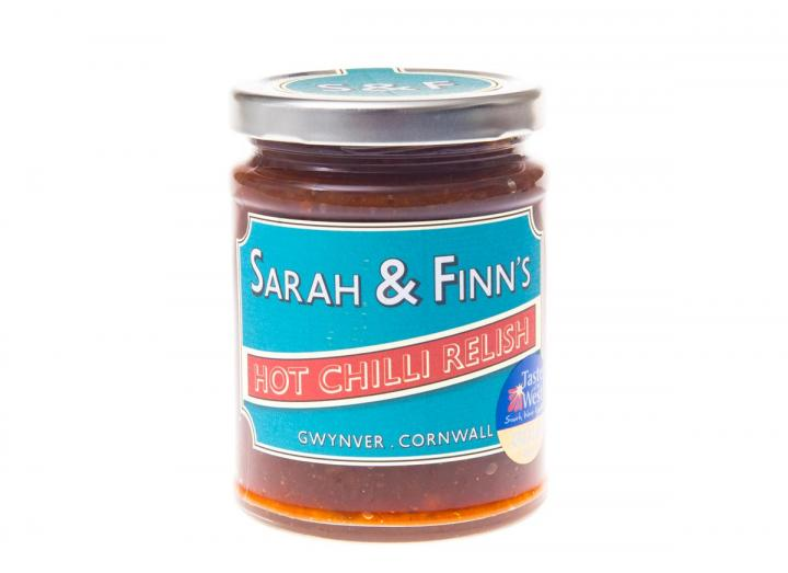 Hot chilli relish from Sarah & Finn's