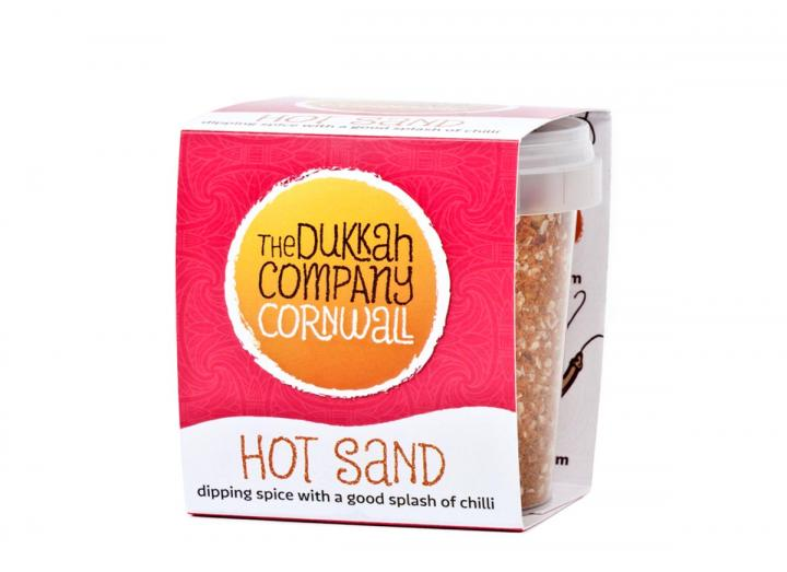 Hot sand dukkah from The Dukkah Company Cornwall