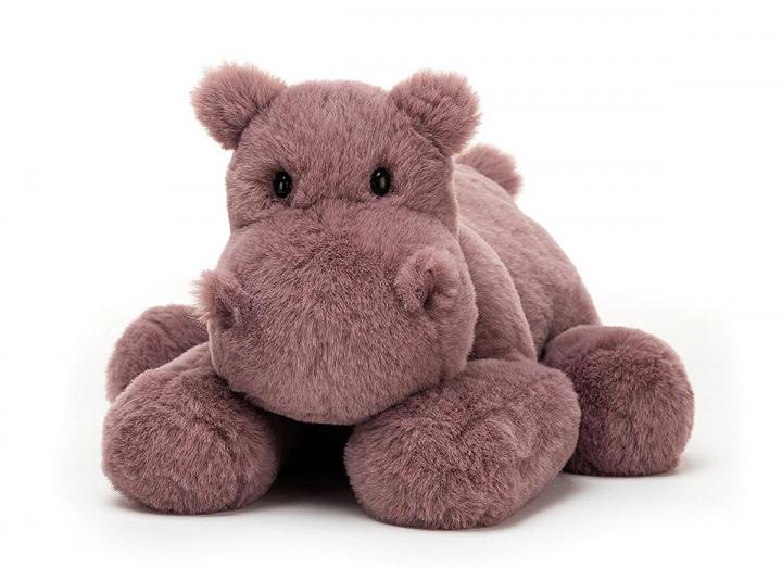 Huggady hippo cuddly toy from Jellycat
