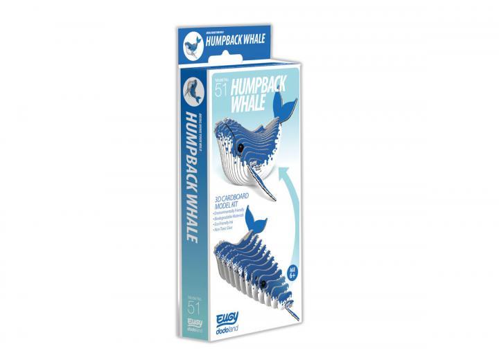 Eugy Humpback Whale 3D model kit