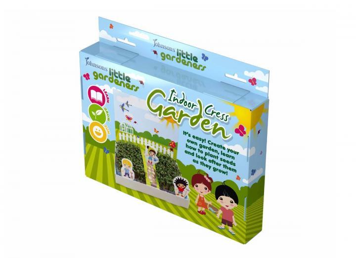 Seeds for little gardeners - indoor cress garden kit
