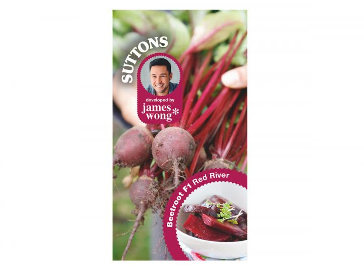 James Wong beetroot red river seeds