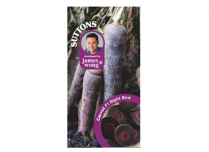 James Wong carrot night bird seeds