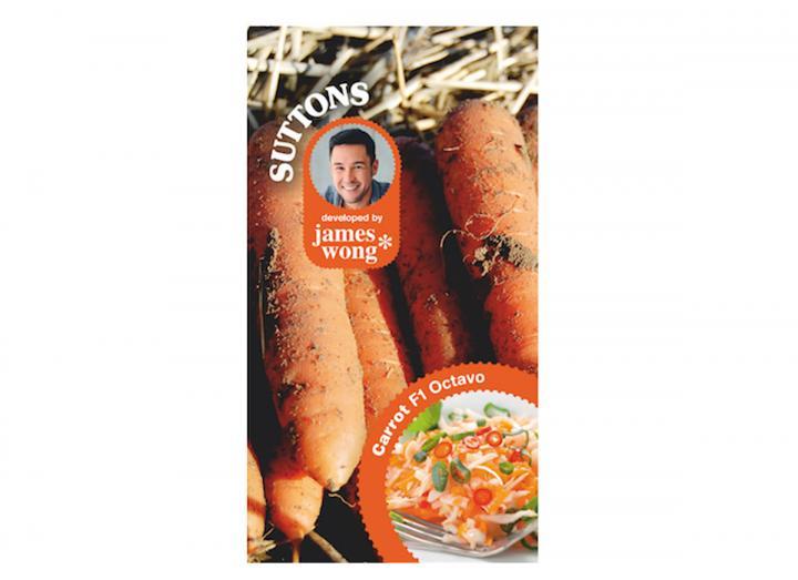 James Wong carrot octavo seeds