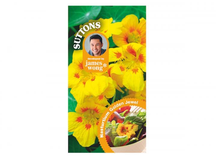 James Wong nasturtium golden jewel seeds