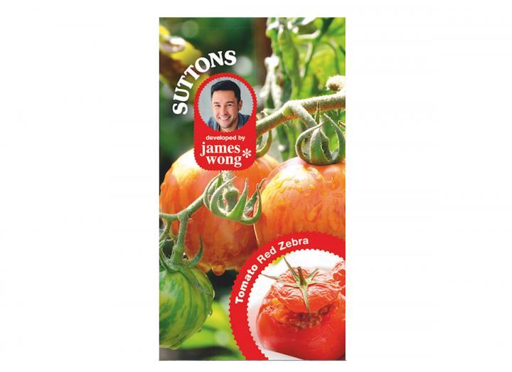 James Wong tomato red zebra seeds