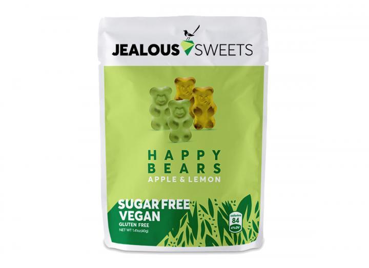 Jealous Sweets apple & lemon sugar free bears 40g