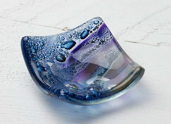 Jo Downs cosmic earring dish, handmade in Cornwall
