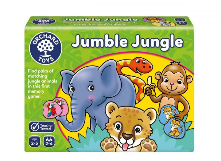 Jumble Jungle game from Orchard Toys