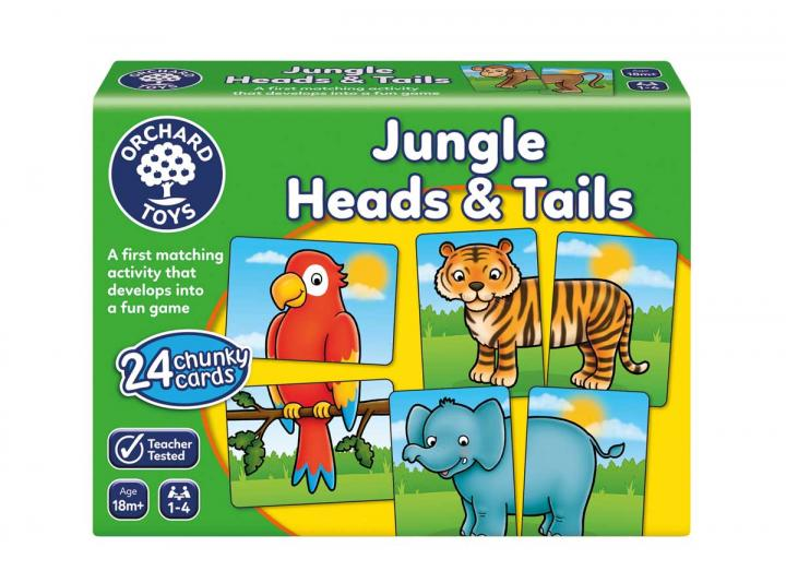 Jungle heads & tails game from Orchard Toys