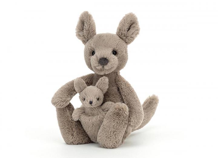 Kara kangaroo cuddly toy from Jellycat