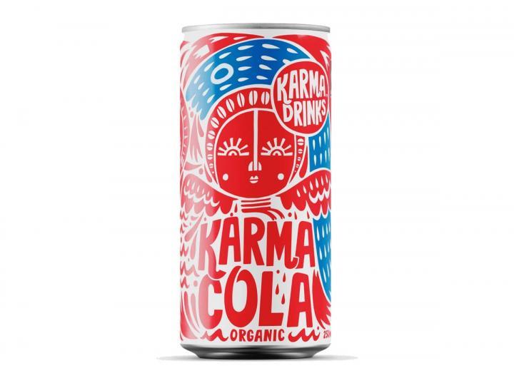 Karma Cola fairtrade cola 250ml can