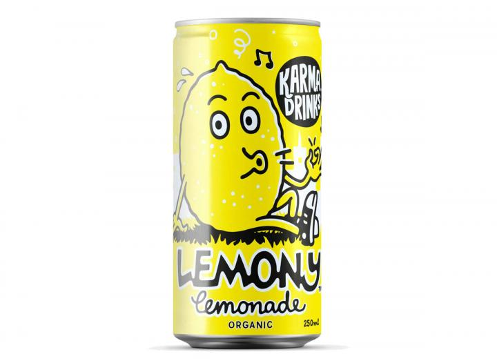 Karma Cola lemony lemonade 250ml can