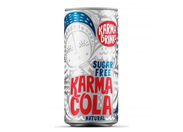 Karma Cola sugar free cola 250ml can
