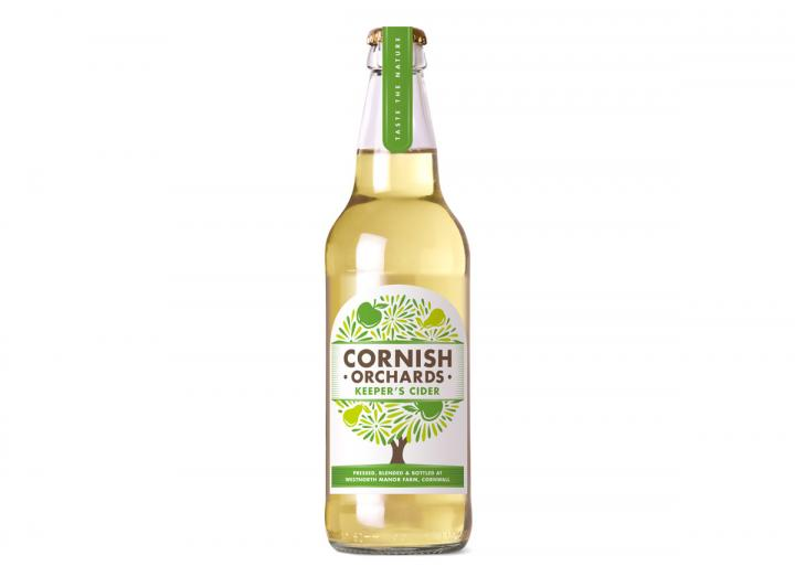 Cornish Orchards Keeper's Meadow cider 500ml bottle