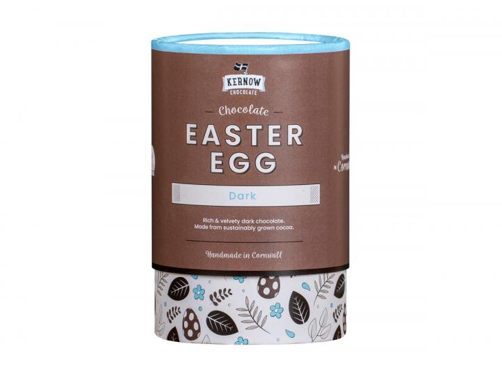 Kernow Chocolate dark chocolate Easter egg 180g
