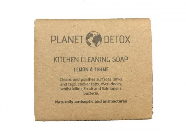 Kitchen cleaning soap, handmade in Totnes by Planet Detox