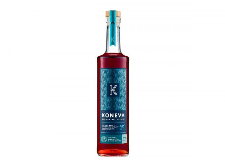 Koneva Cornish craft aperitif from Trevethan Distillery