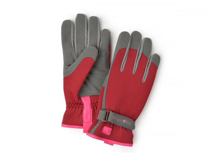 Ladies berry gardening gloves from Burgon & Ball
