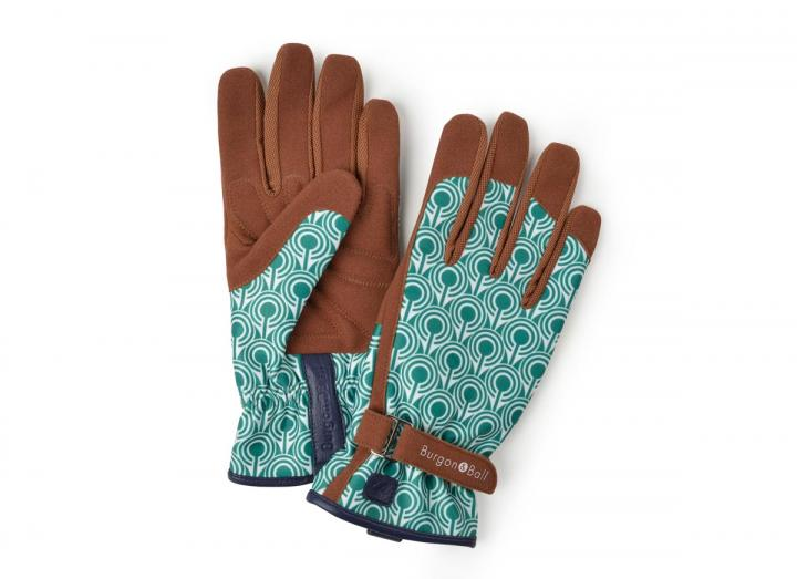 Ladies deco gardening gloves from Burgon & Ball