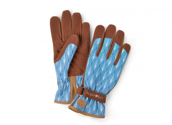 Ladies gatsby gardening gloves from Burgon & Ball