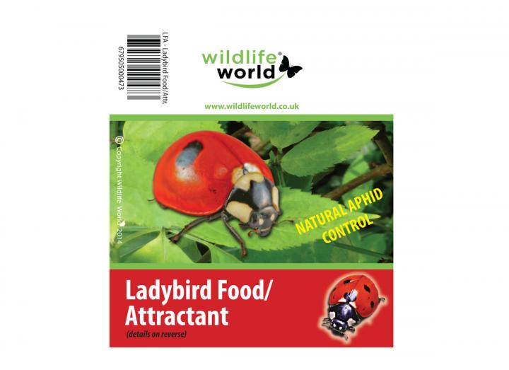 Ladybird attractant & food from Wildlife World
