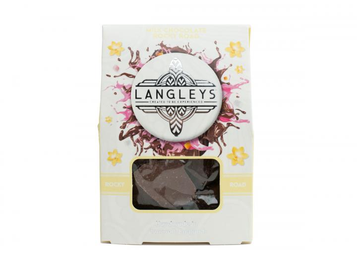 Langleys milk chocolate rocky road