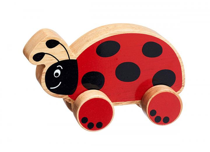 Lanka Kade push along ladybird toy