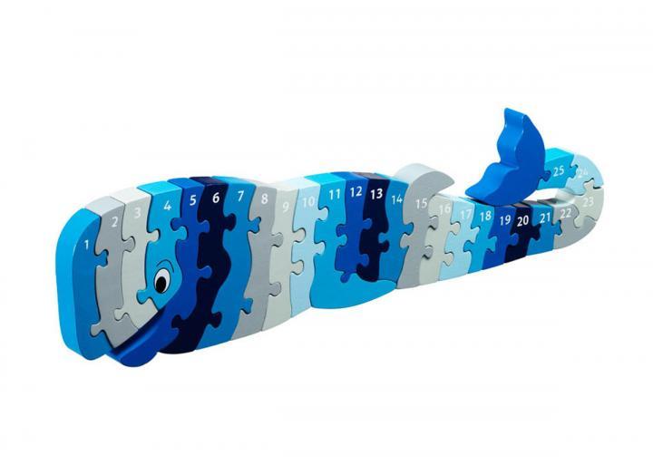 Lanka Kade Whale 1-25 Jigsaw Puzzle