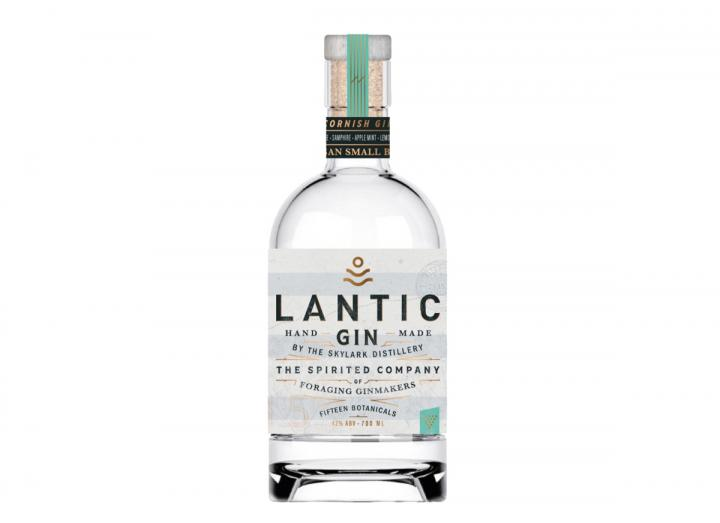 Skylark Distillery Lantic Gin 70cl, made in Cornwall