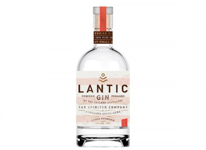 Skylark Distillery Lantic Summer Gin 70cl, made in Cornwall