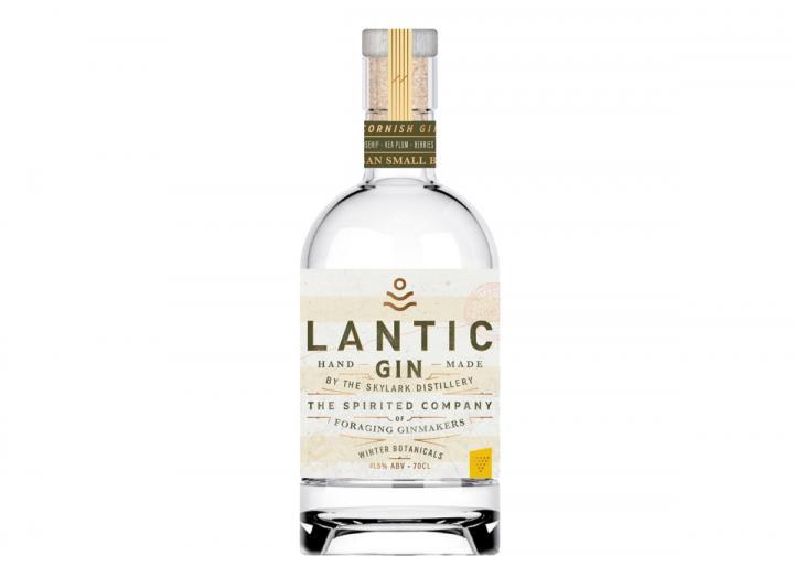 Skylark Distillery Lantic Winter Gin 70cl, made in Cornwall