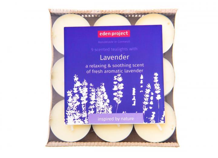 Lavender scented tealights