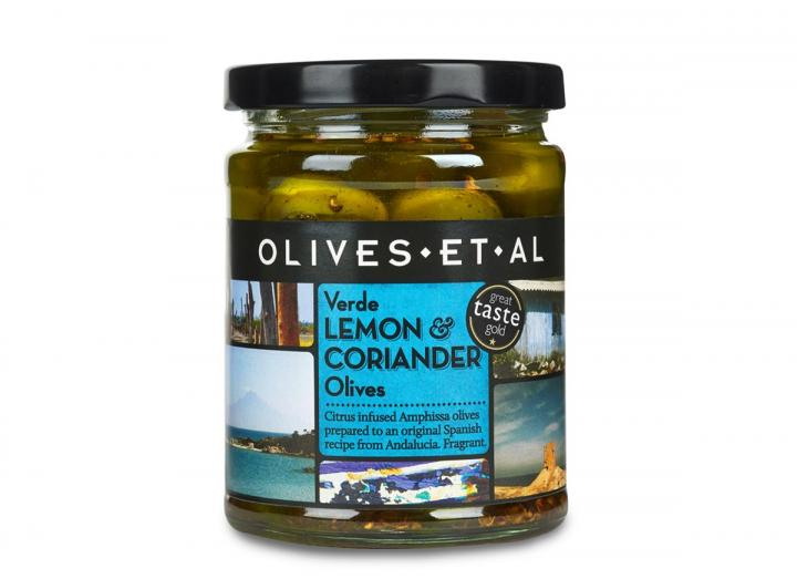 Olives Et Al lemon & coriander olives 250g