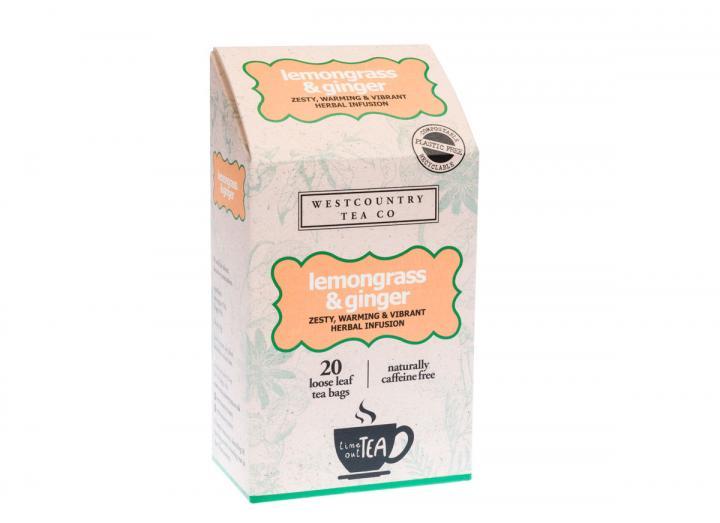 Westcountry Tea Co. lemongrass & ginger