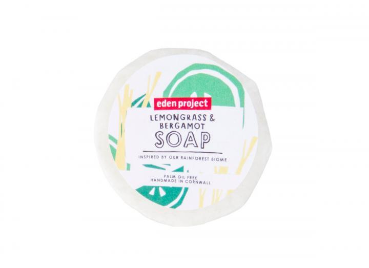 Lemongrass and bergamot soap