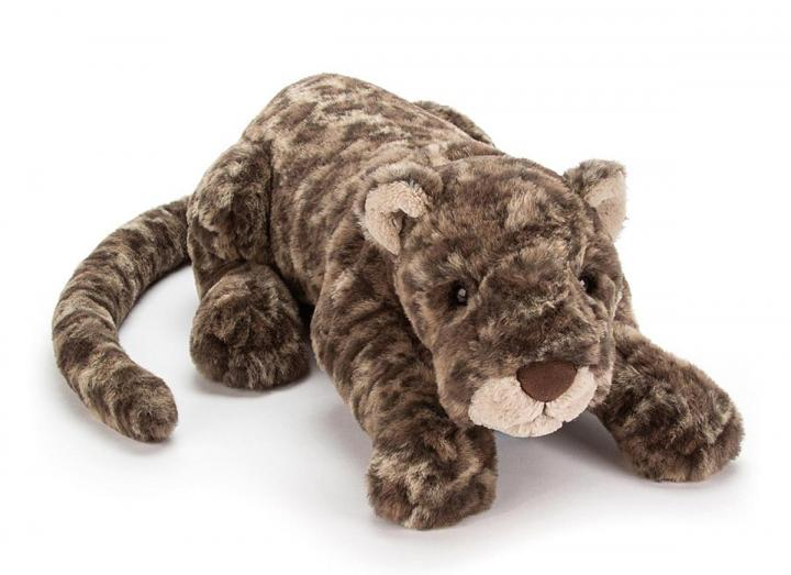 Lexi leopard cuddly toy from Jellycat