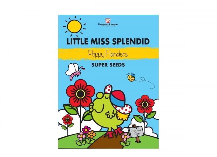 Little Miss range of seeds from Thompson & Morgan - Little Miss Splendid poppy flanders seeds