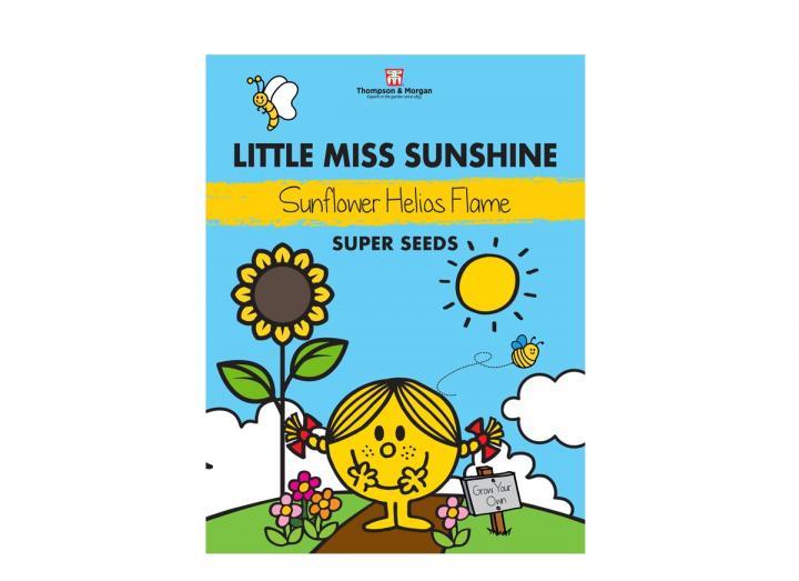 Little Miss range of seeds from Thompson & Morgan - Little Miss Sunshine sunflower helios flame seeds
