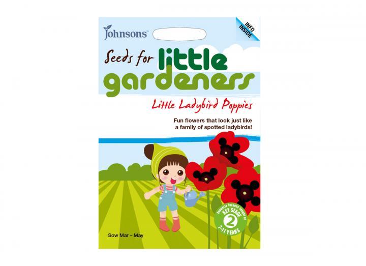 Seeds for little gardeners - little ladybird poppies