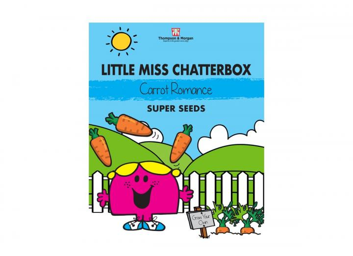 Little Miss range of seeds from Thompson & Morgan - Little Miss Chatterbox carrot romance super seeds