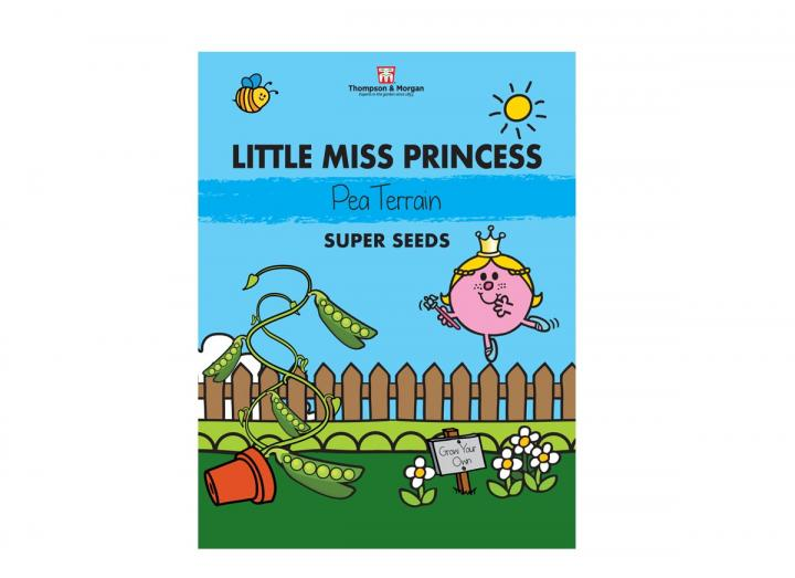 Little Miss seed range from Thompson & Morgan - Little Miss Princess pea terrain seeds