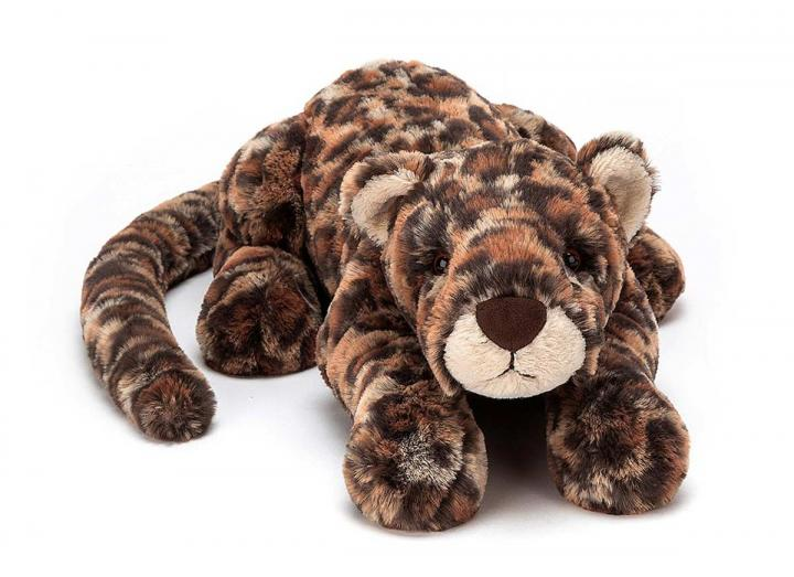 Livi leopard cuddly toy from Jellycat