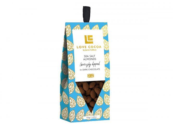 Love Cocoa sea salt almonds 100g