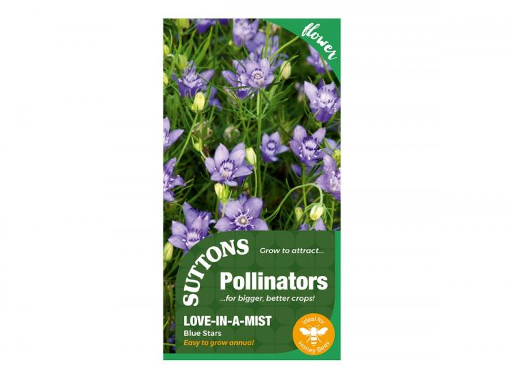 Love-in-a-Mist 'blue stars' seeds from Suttons