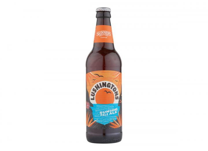 Lushingtons sunshine IPA from Skinner's Brewery