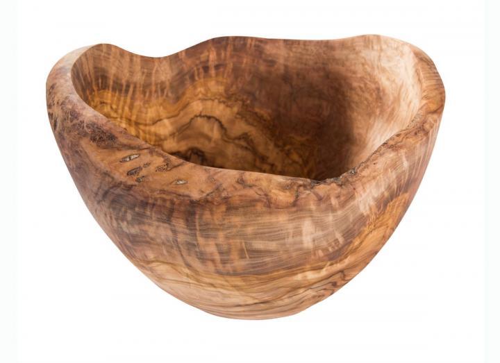 Luxury olive wood bowl