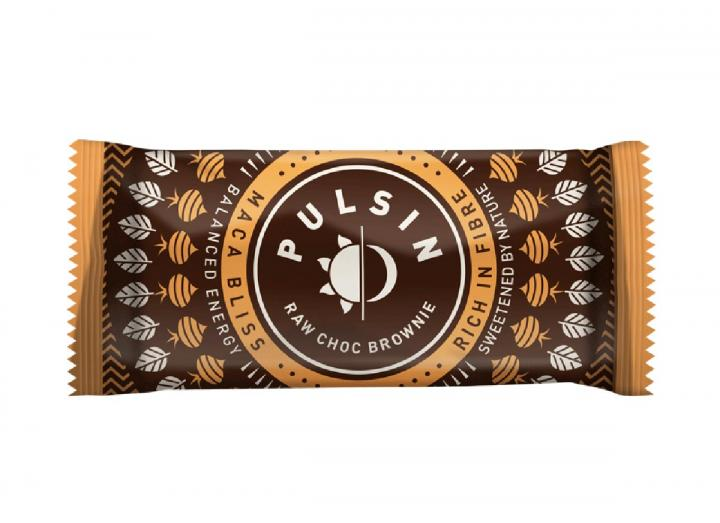 Pulsin maca bliss raw choc brownie