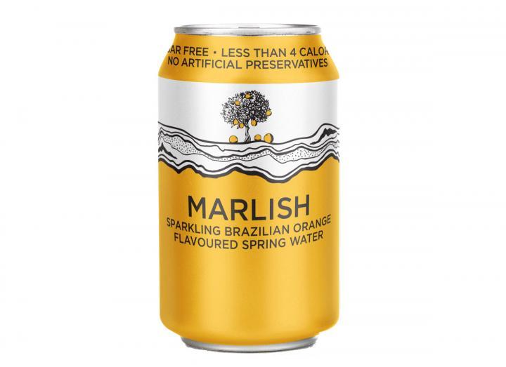 Marlish Brazilian orange sparkling water 330ml