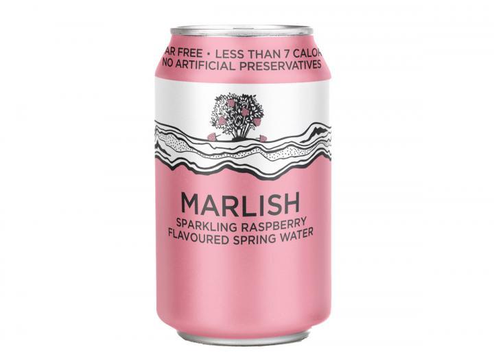 Marlish raspberry sparkling water 330ml